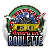 High Limit American Roulette card-and-table