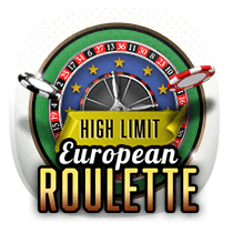High Limit European Roulette card-and-table