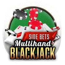 Multihand Blackjack card-and-table