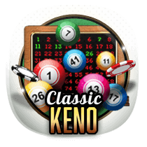 Classic Keno card-and-table