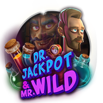 Doctor Jackpot and Mister Wild slots